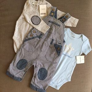 Other - Baby Boy Overall Set